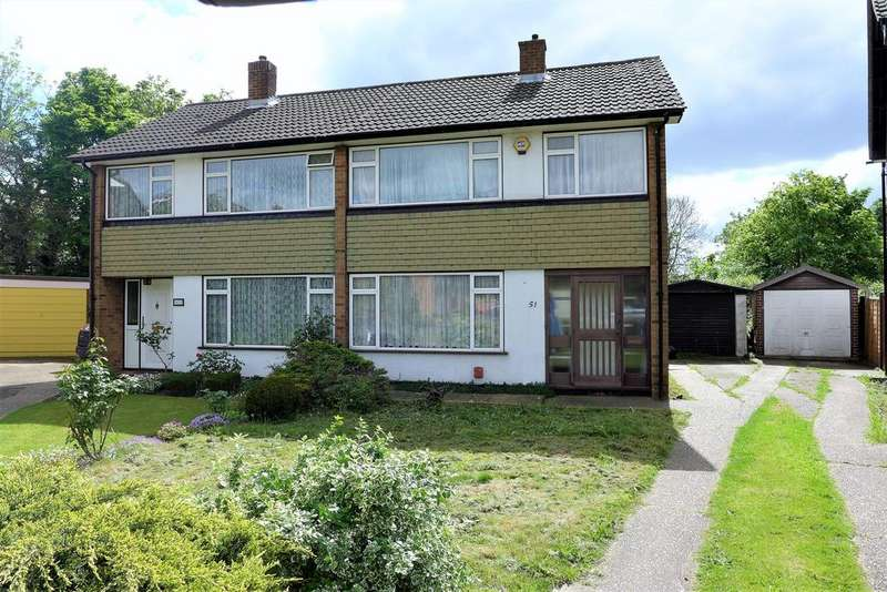 3 Bedrooms Semi Detached House for sale in Park Way, Feltham
