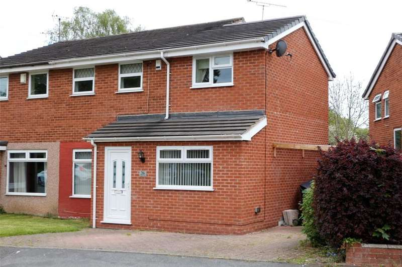 3 Bedrooms Semi Detached House for sale in Ashburn Way, Kingsmills, Wrexham, LL13