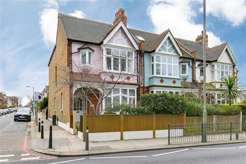 4 Bedrooms End Of Terrace House for sale in Clapham Common West Side, London