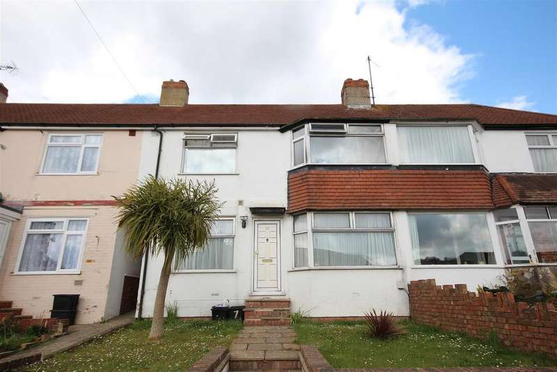 3 Bedrooms Terraced House for sale in Haywards Road, Patcham, Brighton