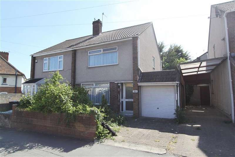 3 Bedrooms Semi Detached House for sale in Marksbury Road, Bedminster, Bristol