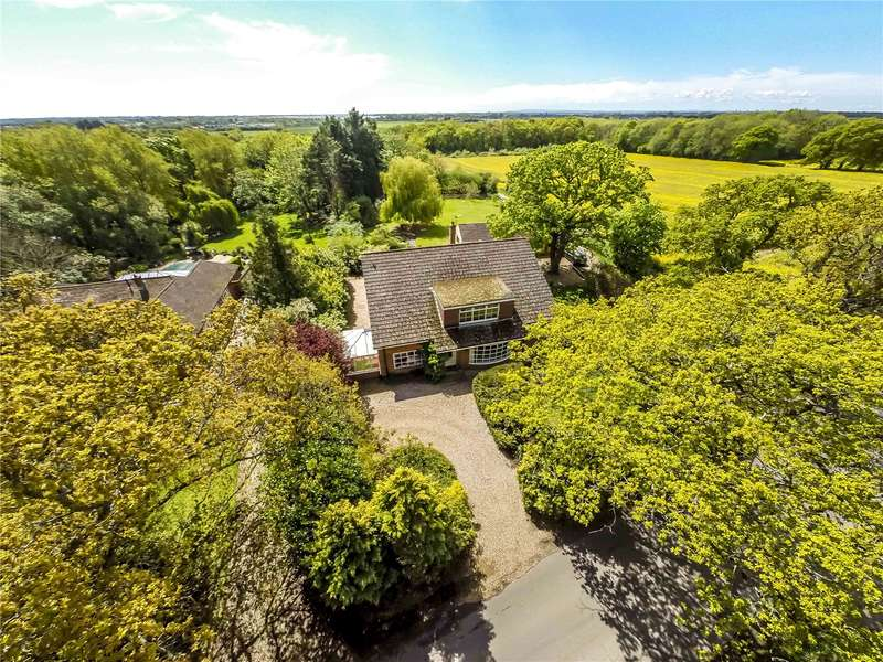 6 Bedrooms Detached House for sale in Woodmancote Lane, Woodmancote, Emsworth, West Sussex, PO10