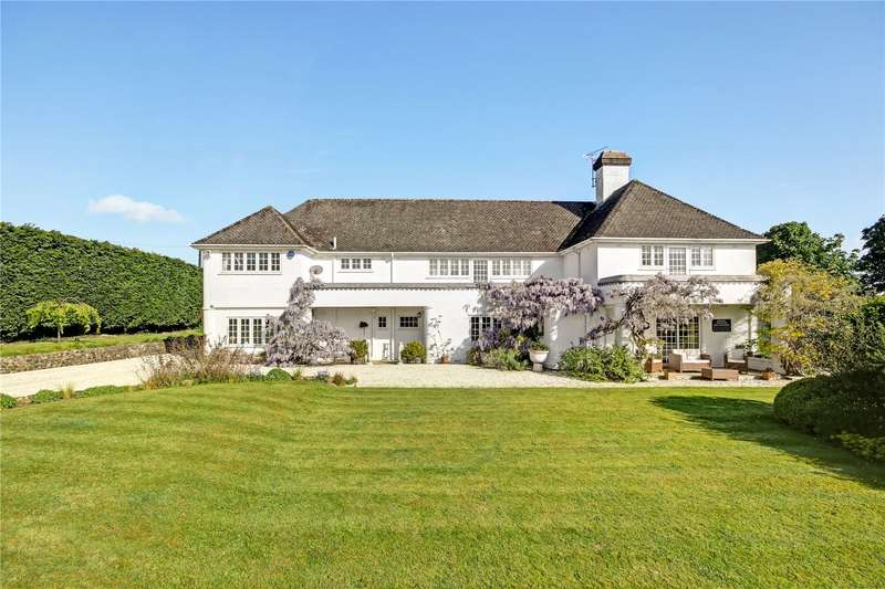 6 Bedrooms Detached House for sale in Folly Road, Lambourn, Hungerford, Berkshire, RG17
