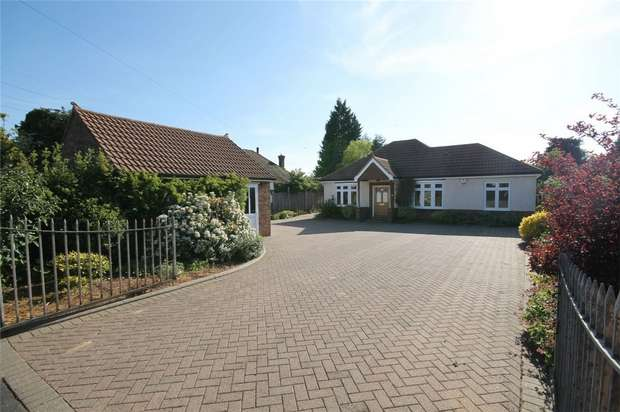 5 Bedrooms Detached Bungalow for sale in Box End Road, Kempston, Bedford