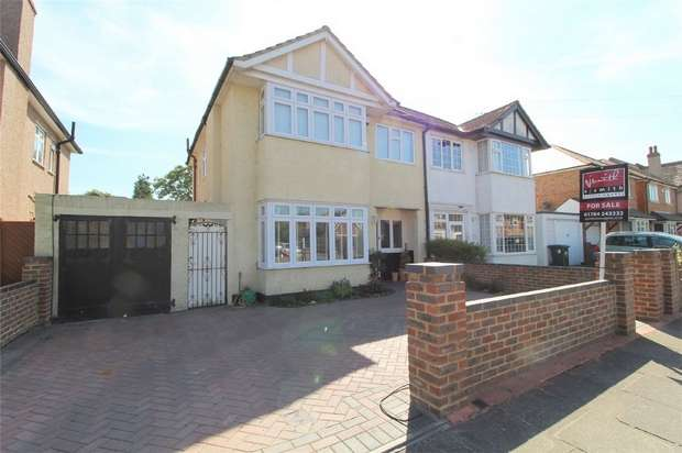 4 Bedrooms Semi Detached House for sale in Station Crescent, Ashford, Surrey