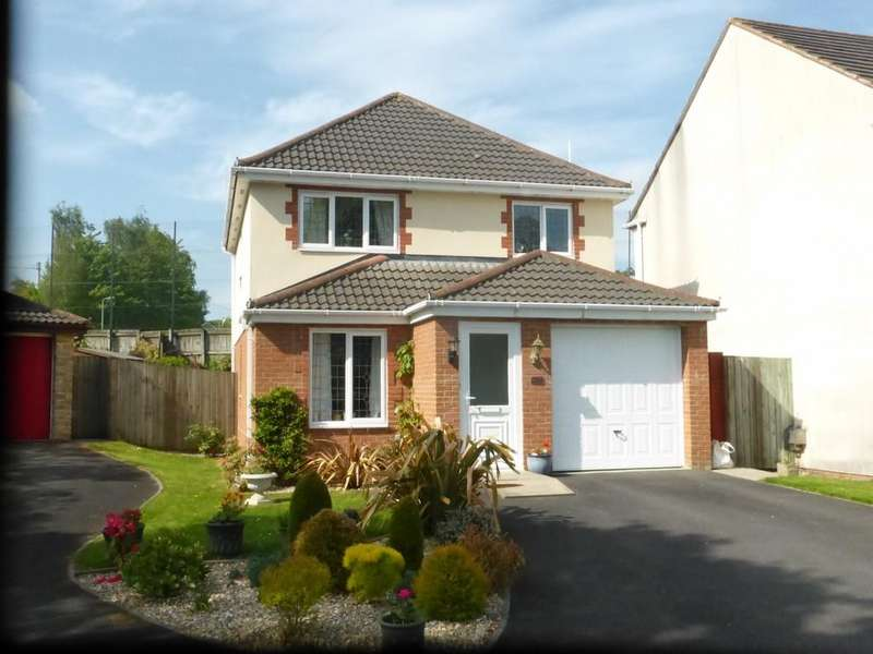 3 Bedrooms Detached House for sale in Kestrel Close, Okehampton