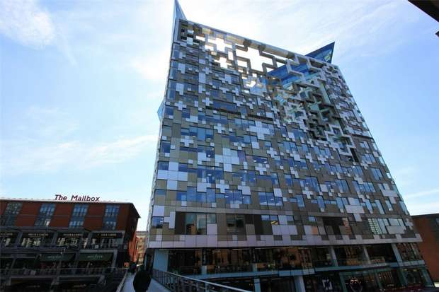 2 Bedrooms Flat for sale in The Cube East, 200 Wharfside Street, Birmingham city centre, West Midlands
