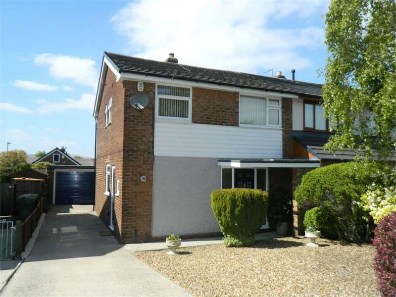 3 Bedrooms Semi Detached House for sale in Hawkstone Close, Harwood, Bolton, Lancashire