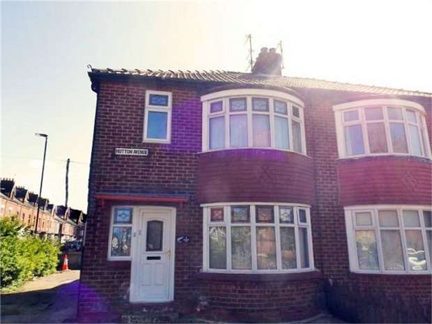 3 Bedrooms Semi Detached House for sale in Hutton Avenue, Hartlepool, Durham