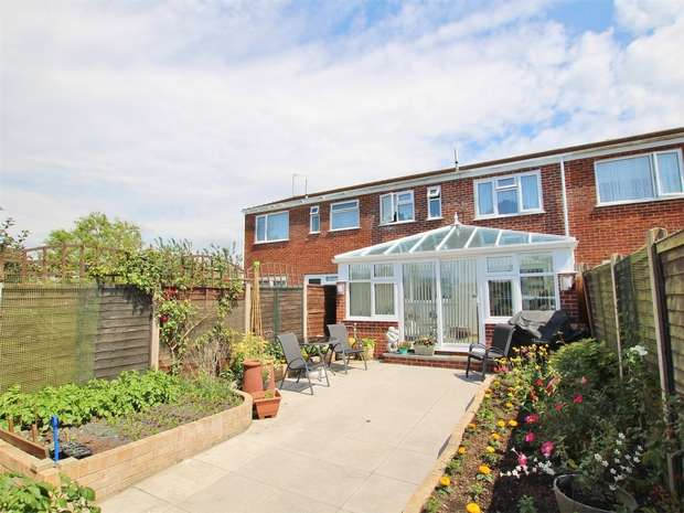 4 Bedrooms Terraced House for sale in Seliot Close, Oakdale, POOLE, Dorset