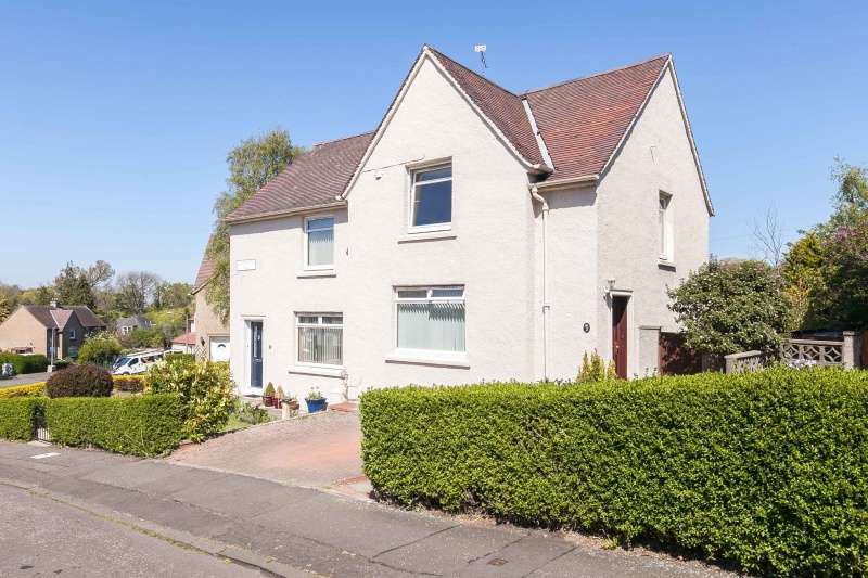 2 Bedrooms Semi Detached House for sale in Clermiston Hill, Clermiston, Edinburgh, EH4 7DH