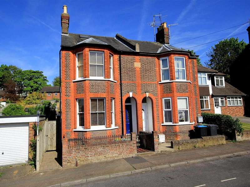 3 Bedrooms Semi Detached House for sale in 3 BED CHARACTER SEMI WITH LARGE GARDEN IN SOUGHT AFTER OLD TOWN LOCATION