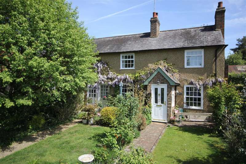 2 Bedrooms Cottage House for sale in REFURBISHED 2 BED CHARACTER COTTAGE with GARAGE and PARKING in PICTURESQUE `VILLAGE` LOCATION.