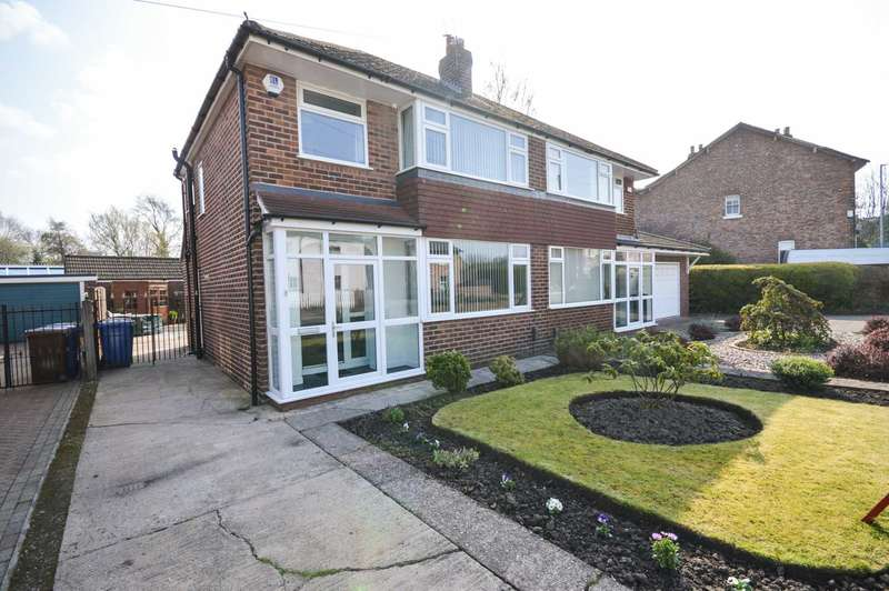 3 Bedrooms Semi Detached House for sale in Hulme Hall Road, Cheadle Hulme