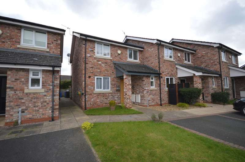 3 Bedrooms End Of Terrace House for sale in Ashdown Close, Cheadle Hulme