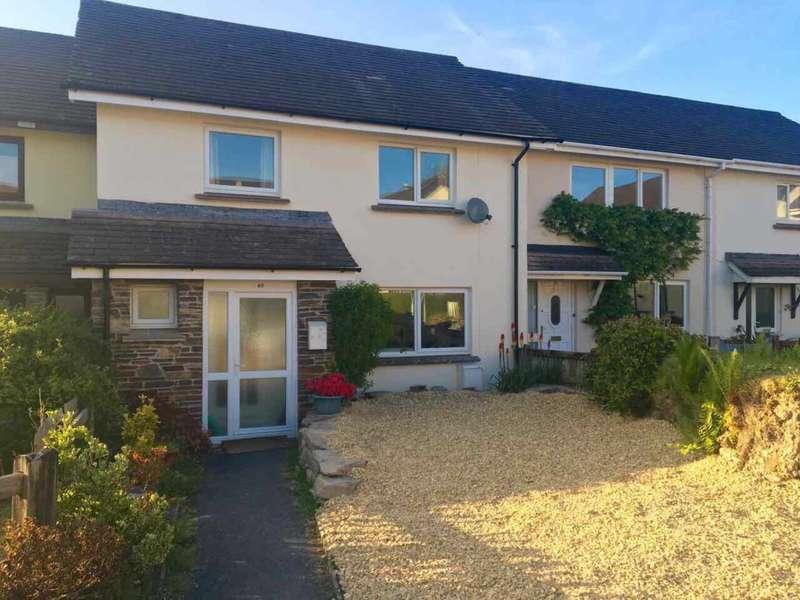 3 Bedrooms Terraced House for sale in New Park, Horrabridge, PL20