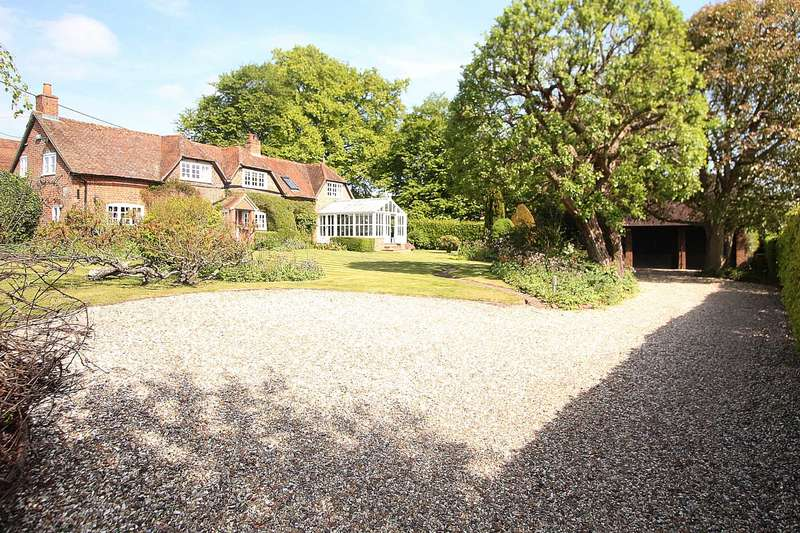 4 Bedrooms Detached House for sale in Ashampstead, Berkshire