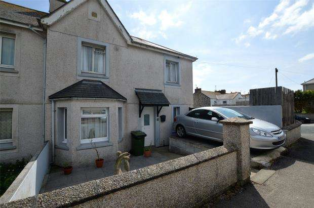 3 Bedrooms End Of Terrace House for sale in Penalverne Crescent, Penzance, Cornwall