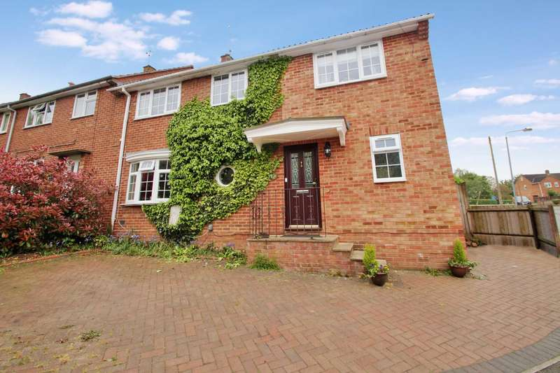 4 Bedrooms End Of Terrace House for sale in Barnard Way, Hemel Hempstead