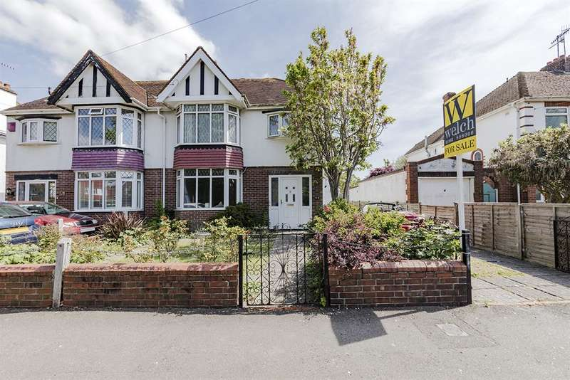4 Bedrooms Semi Detached House for sale in Southwick Street, Southwick, Brighton, BN42 4TJ