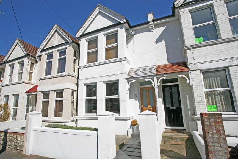 4 Bedrooms Terraced House for sale in Dover Road, Brighton BN1