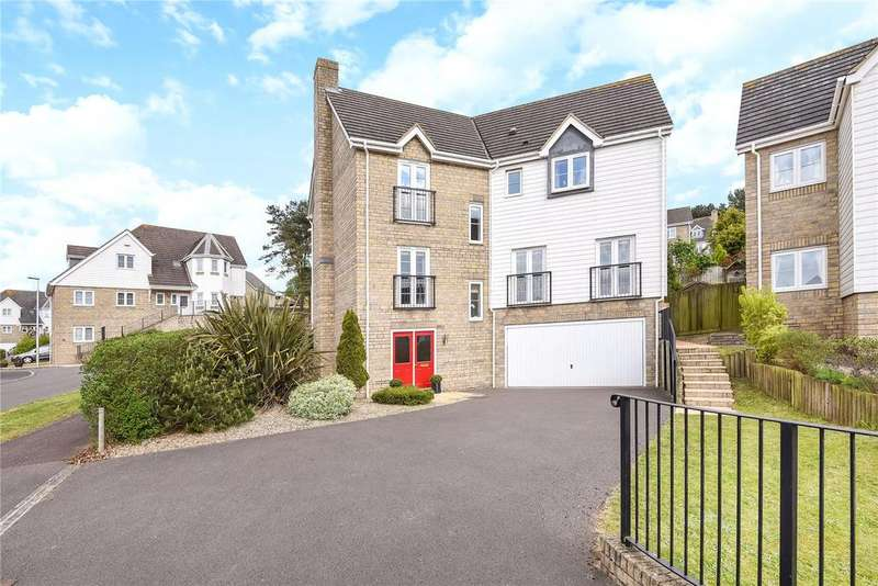 4 Bedrooms Detached House for sale in Charlcombe Rise, Portishead, Bristol, BS20