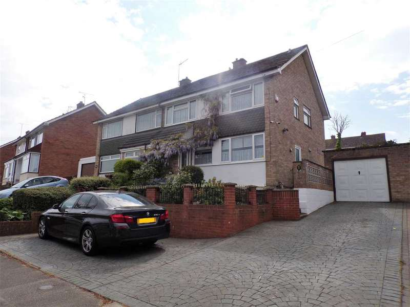 4 Bedrooms Semi Detached House for sale in Radcliffe Drive, Ipswich