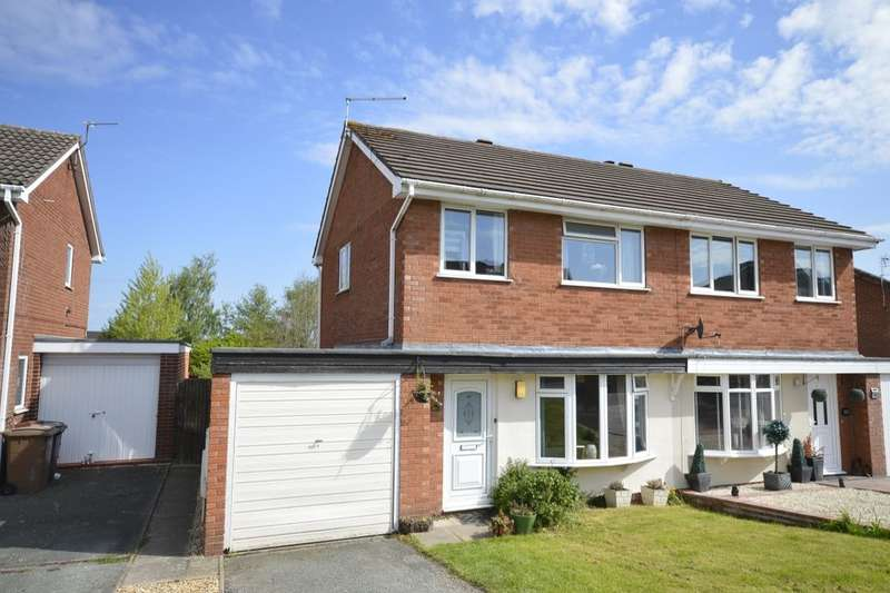 3 Bedrooms Semi Detached House for sale in Balmoral Crescent, Oswestry, SY11