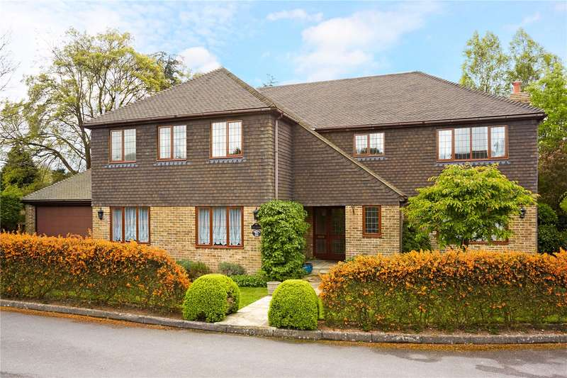 5 Bedrooms Detached House for sale in Claremount Close, Epsom, Surrey, KT18