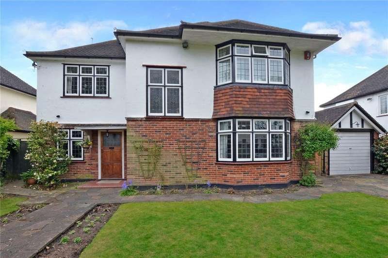 4 Bedrooms Detached House for sale in The Avenue, Cheam, Surrey, SM2