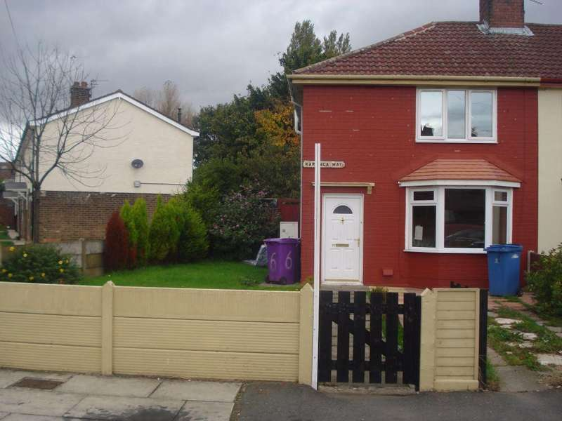 3 Bedrooms End Of Terrace House for sale in Karonga Way, Fazakerley, Liverpool, Merseyside, L10