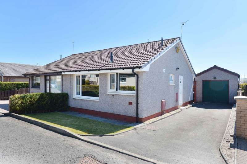 2 Bedrooms Semi Detached Bungalow for sale in Eastfield View, Fauldhouse, West Lothian, EH47 9LN