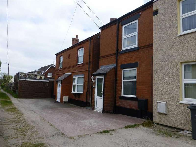 2 Bedrooms Semi Detached House for sale in Winifred Cottages, Bradley, Wrexham