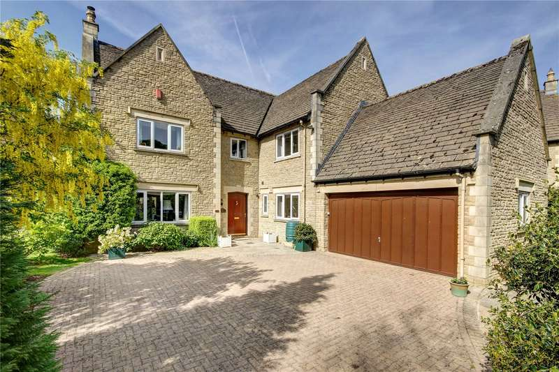 5 Bedrooms Detached House for sale in Oaklands, Somerford Road, Cirencester, Gloucestershire, GL7