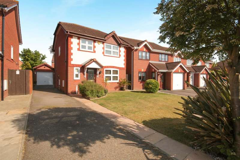 3 Bedrooms Detached House for sale in Elwood, Harlow, CM17