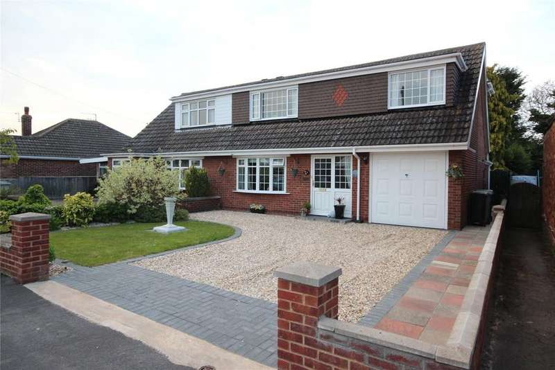 4 Bedrooms Semi Detached House for sale in Silver Street, Holton le Clay, DN36