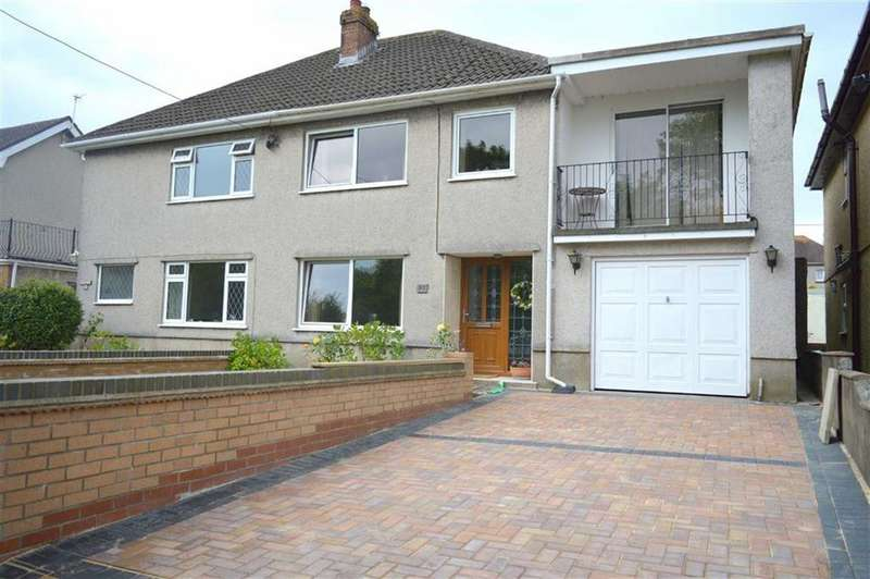 4 Bedrooms Semi Detached House for sale in Woodlands, Gowerton, Swansea