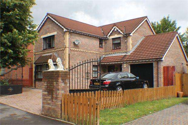 4 Bedrooms Detached House for sale in Park Place, Tonypandy, Tonypandy, Rhondda Cynon Taff. CF40 1BA