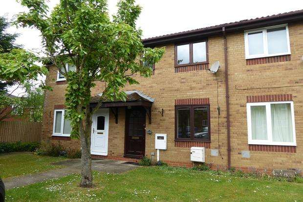 2 Bedrooms Terraced House for sale in Muncaster Gardens, East Hunsbury, Northampton, NN4