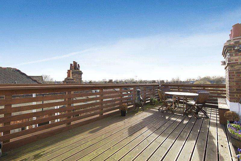 2 Bedrooms Penthouse Flat for sale in Salusbury Road, Queen's Park, London, NW6