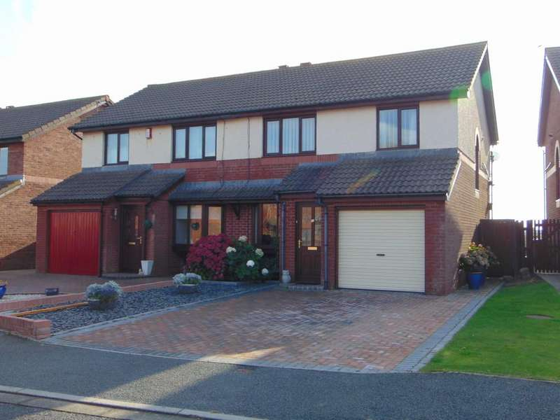 3 Bedrooms Semi Detached House for sale in 15 Headland Rise, Walney, Barrow-In-Furness