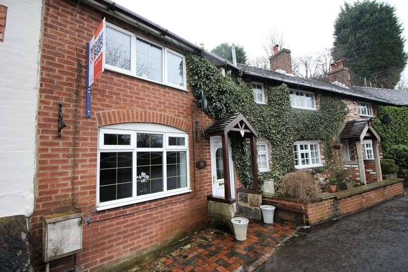 2 Bedrooms Terraced House for sale in Middle Cottage, Station Road, Cheddleton ST13