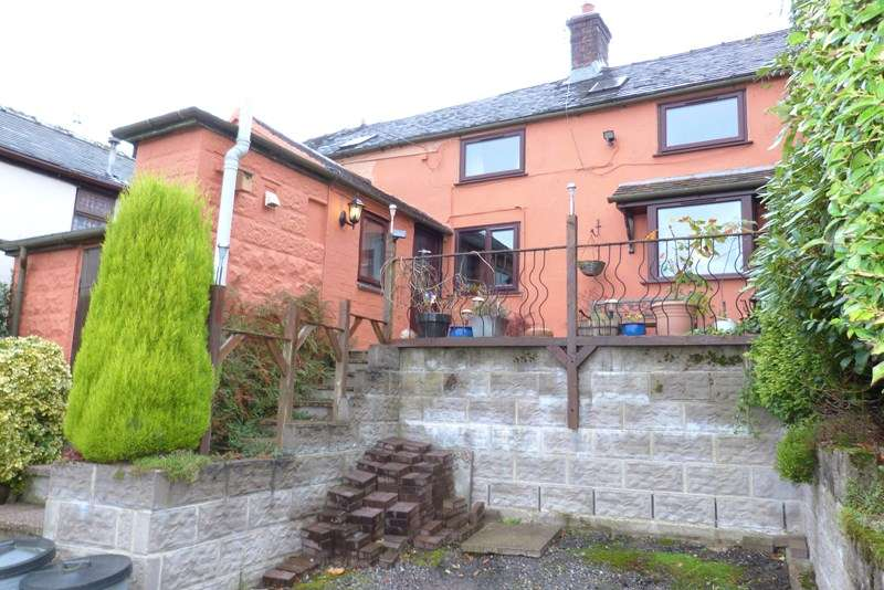 2 Bedrooms Terraced House for sale in Chapel Lane, Brown Edge, Staffordshire ST6