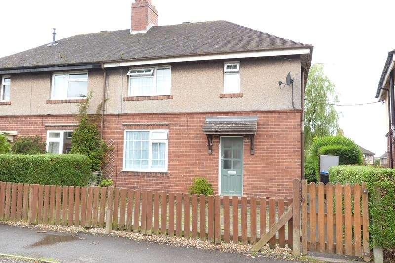 3 Bedrooms Semi Detached House for sale in Argles Road, Leek, Staffordshire ST13