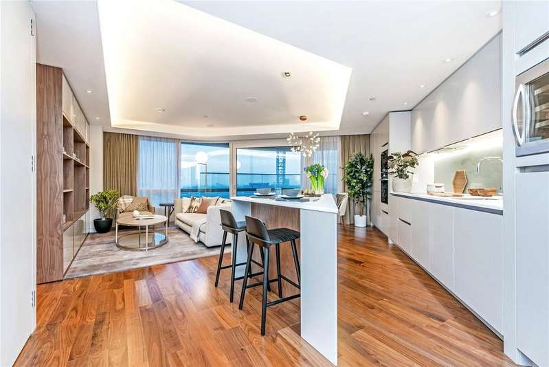 2 Bedrooms Flat for sale in Canaletto Tower, 257 City Road, Old Street, London, EC1V