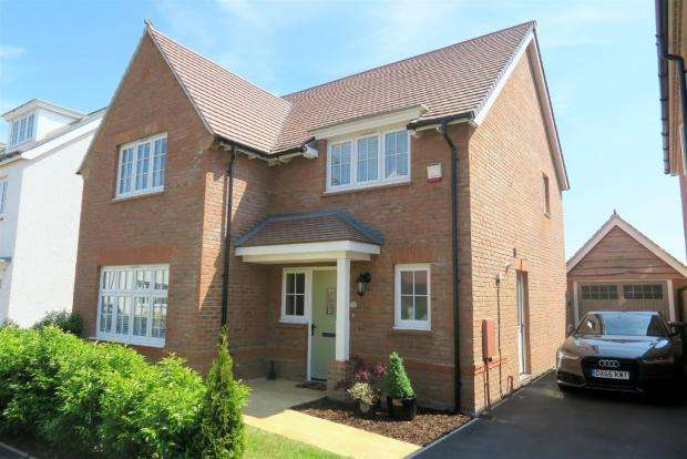4 Bedrooms Detached House for sale in Schofield Close, Taunton TA2
