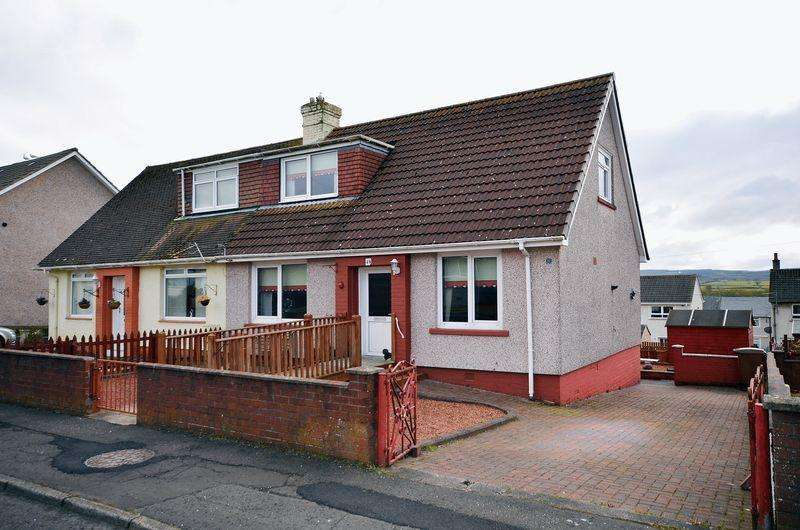 3 Bedrooms Semi Detached Bungalow for sale in 49 Glencraig Street, Drongan KA6 7AT