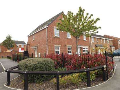 3 Bedrooms Semi Detached House for sale in Densham Drive, Stockton-On-Tees, Durham