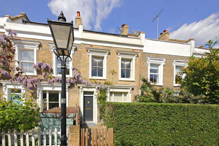 3 Bedrooms Terraced House for sale in Quadrant Grove, NW5