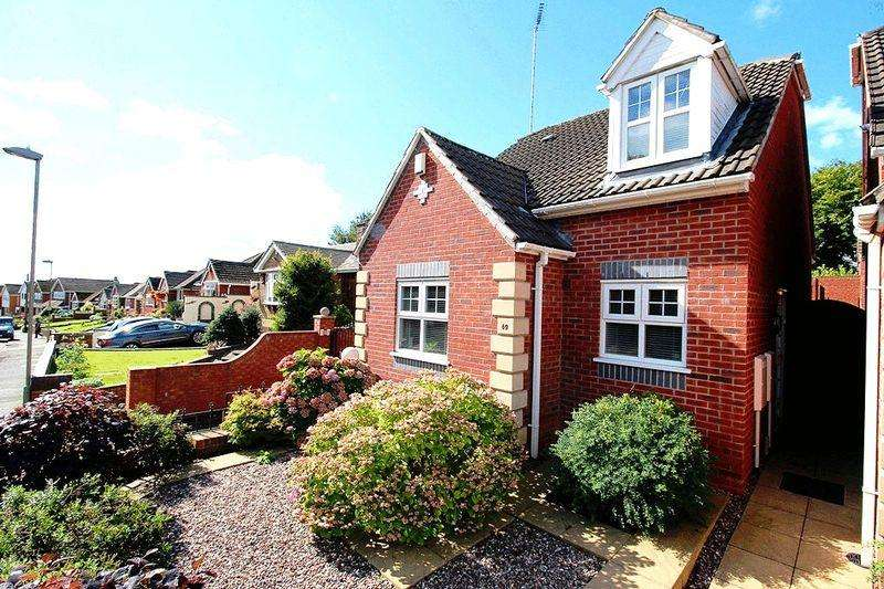 2 Bedrooms Detached Bungalow for sale in Cotwall End Road, SEDGLEY